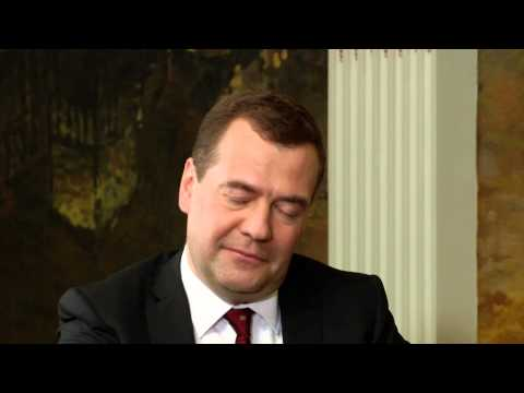 Interview Dmitry Medvedev Russian PM  By Suthichai Yoon