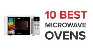 10 Best Microwave Ovens in India with Price