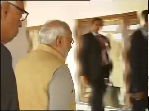 Omar Abdullah briefs PM Narendra Modi on flood status