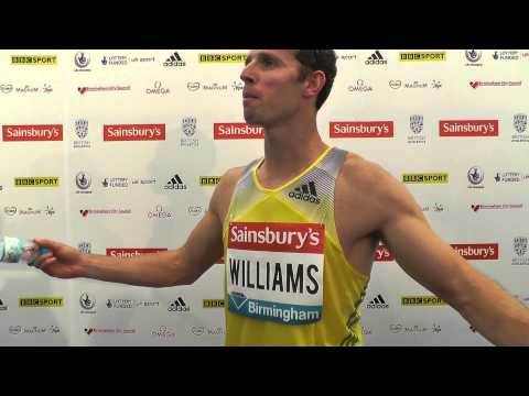 Rhys Williams, 400mH #SainsburysGP