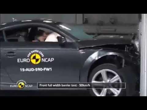 L'Audi TT obtient quatre étoiles aux crash-tests Euro NCAP