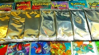 Ouverture de 7 Boosters Pokémon MYSTERIEUX ! UNE CARTE POKEMON EX DU POKEMON CENTER !