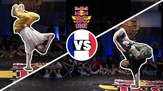 Red Bull BC One Cypher France 2018 | B-Girl Final:  Kami vs. San Andrea
