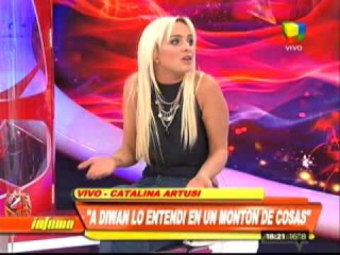 Catalina Artusi: Diwan es tranquilo, pero si está de mal humor, agarrate.