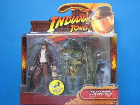 Indiana Jones Raiders of the Lost Ark Indy and Temple Trap