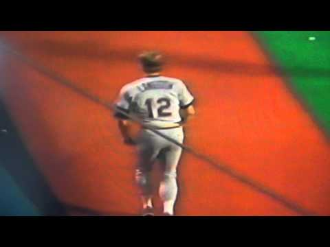 Mark Langston Moonwalks Like Michael Jackson! Seattle Mariners