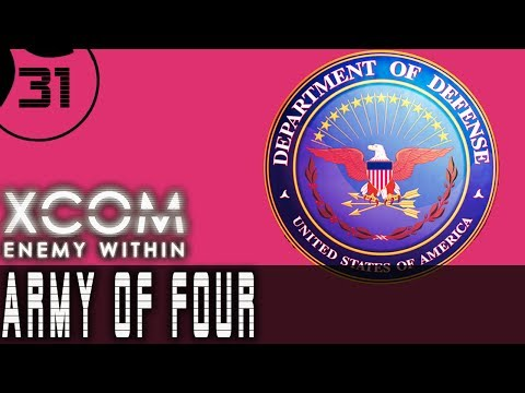 Let's Play XCOM Enemy Within ARMY OF FOUR - Part 31 - Base Defense FARISANI ROOKIE OF THE YEAR
