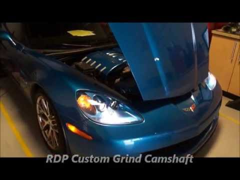 Tuffest Sounding Z06 Corvette Ever! Huge Camshaft and Loud Exhaust