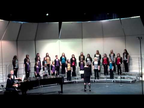Girls ensemble. North Albany Middle School: Weep No More