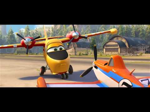 Planes: Fire & Rescue official movie trailer (2014) Disney Animation Film