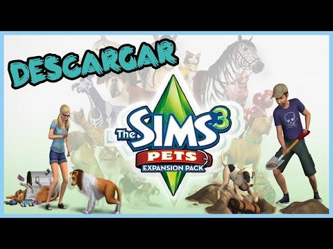 Descargar E Instalar Los sims 3 Vaya Fauna (PETS) En Español