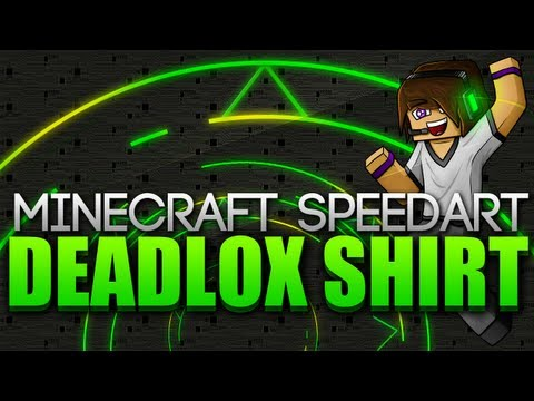 Minecraft SpeedArt - Deadlox Shirt