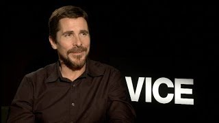 Vice interviews - Bale, Adams, McKay - Christian Bale called Gary Oldman for advice