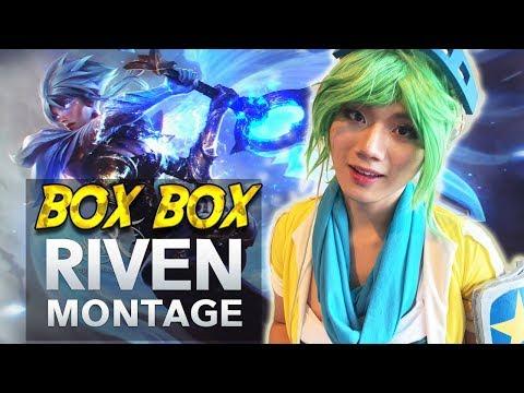"""Riven """"BoxBox"""" Montage #8 - God Riven Plays 2017 - League of Legends [GGWP]"""