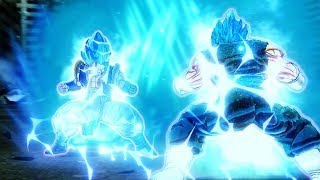 SSGSS Gogeta vs SSGSS Vegito! The True Power of Gods! - Dragon Ball Xenoverse 2