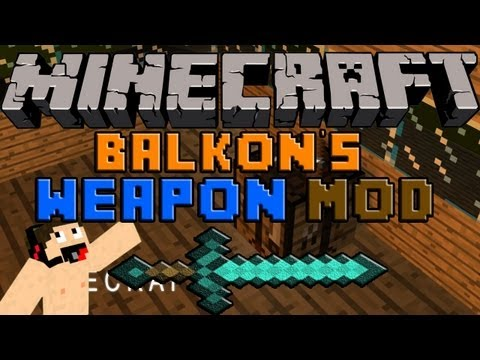 Minecraft Mods: Descargar e instalar Balkon's Weapon mod para minecraft 1.5.2