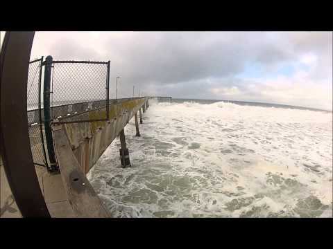 GoPro Hero 2 - Stormy CA surf - Carmel to Pacifica, 11/30/2012