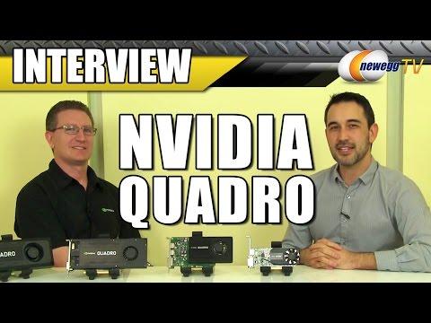 Nvidia Quadro Refresh Interview - Newegg TV