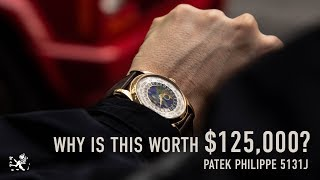 Is This Watch Worth $125,000? Patek World Time 5131J Lifestyle Review