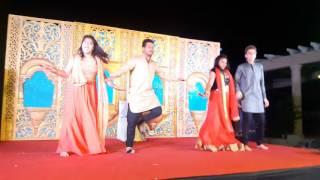 Dilip Rathi dance performance Dupatta Tera Nau Rang Da and Tenu Leke Jawaga