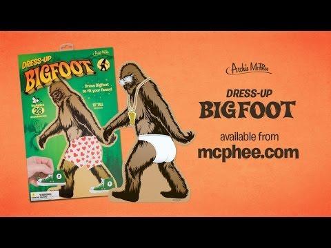 Dress Up Bigfoot - Archie McPhee
