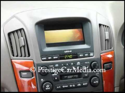 Lexus Rx300 Dvd Player Installation To The Existing