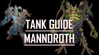 Tanking guide for Mannoroth - Hellfire Citadel 6.2 - Blood Death Knight POV