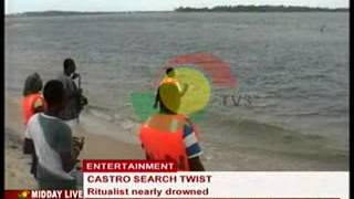 Midday Live - Castro Search - Ritualist nearly drowned - 11/7/2014