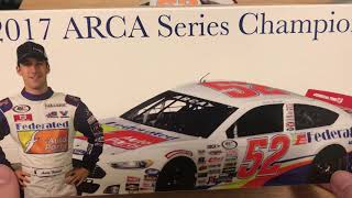 Austin Theriault's 2017 Federated Auto Parts Ford ARCA Champion 1/24 Diecast Review