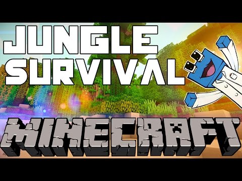 Watch Minecraft: Jungle Survival Co Op: Ep1
