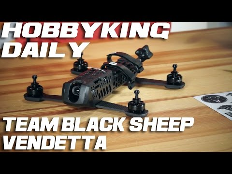 TBS Vendetta  & OSD Walkthrough - HobbyKing Daily