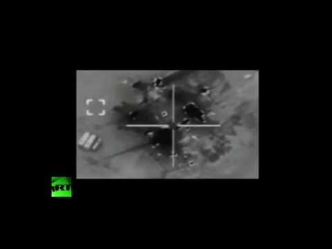 BATTLE CAMERA: US F-15s destroy ISIS-held oil refineries in Syria