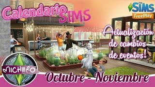 Nuevo Calendario Misiones  🌸  Actualizado  👌  Octubre - Noviembre  🐻  The Sims freeplay