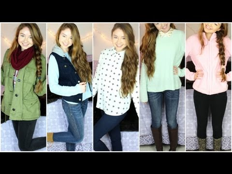 Outfits of the Week December!!! - YouTube