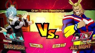 All Might vs Tomura Shigaraki! My Hero Ones Justice PS4 Pro Gameplay #MyHeroAcademia