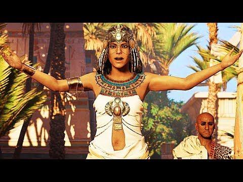 ASSASSIN'S CREED ORIGINS Caesar VS Cleopatra 4K TRAILER (Gamescom 2017)
