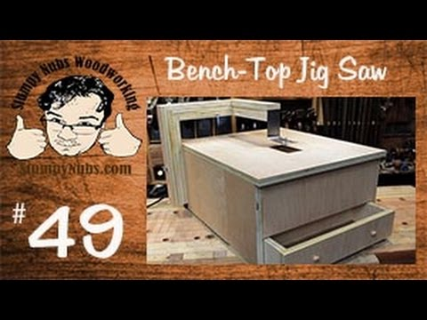 SNW49- Homemade Rockwell Blade Runner style jig saw IMPROVED!