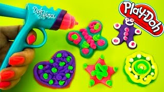 Play-doh DohVinci DIY Gingerbread Man Cookies Christmas Holiday Ornaments Toy PlayDoh Vinci
