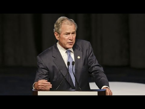 George W. Bush Honored as 'Father of the Year'
