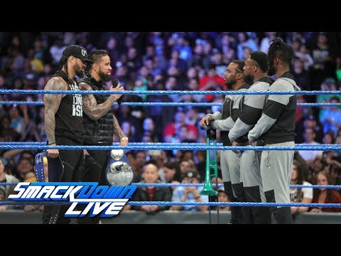 The Usos and The New Day renew their rivalry: SmackDown LIVE, Feb. 27, 2018