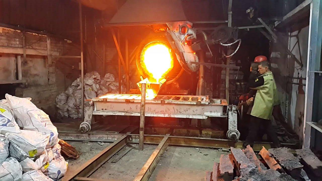 Плавильная печь  медь 98