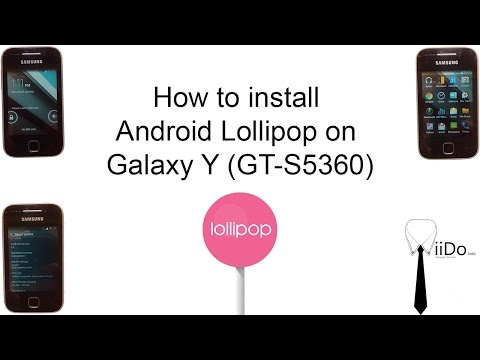 Easy steps: How to install Android Lollipop on Samsung Galaxy Y (GT-S5360)