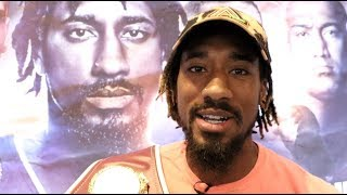 'YOU TALK S***' - DEMETRIUS ANDRADE ON BILLY JOE SAUNDERS, CANELO, GGG & SULECKI CLASH IN PROVIDENCE