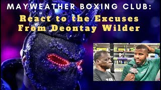 Mayweather Boxing Club responds to Deontay Wilder's excuses for loss to Tyson Fury