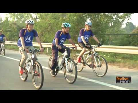 เนชั่นทีวีจัดงานปั่นจักรยาน Nation Bike Thailand 2015ลำปาง