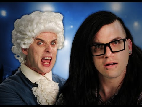 Mozart vs Skrillex. Epic Rap Battles of History Season 2. Music Videos