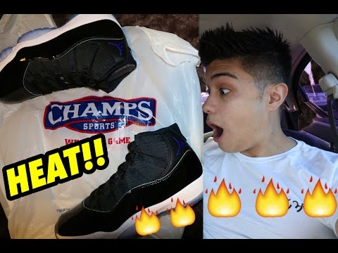 CHAMPS HOOKED IT UP WITH MAJOR HEAT!! Trip To Champs Sports!!