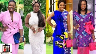 Top Most Fashionable/Stylish Outfits of Jackie Appiah