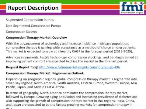Compression Therapy Market: Global Industry Analysis and Forecast Till 2025 by FMI