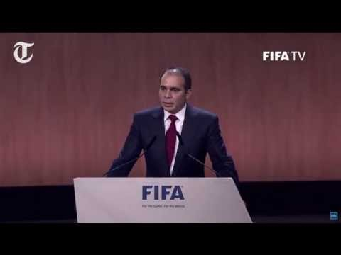 Fifa election: Prince Ali withdraws, Blatter re-elected